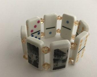 Storyville Domino Bracelet/Nola Domino Bracelet/ Chunky Bracelet