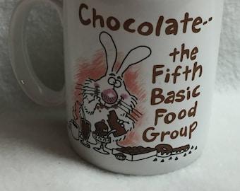 Hallmark - Chocolate: the Fifth Basic Food Group - Mug (#006)