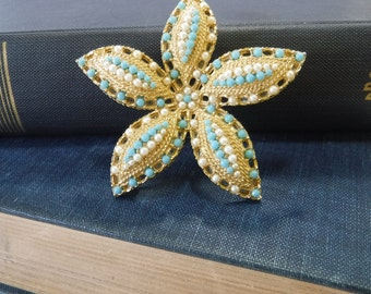 Vintage Starfish Brooch by Sarah Coventry
