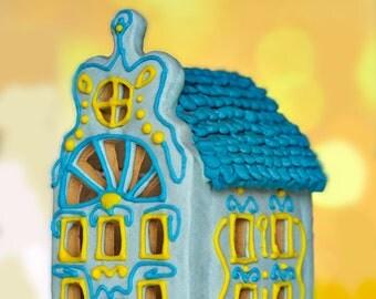 3D Gingerbread House Cookie Cutter