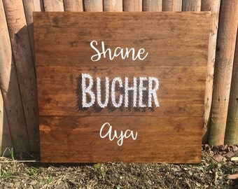 Wedding Guest Signature Sign