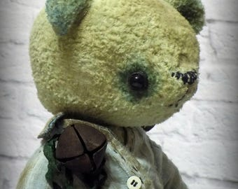 Victor teddy bear OOAK