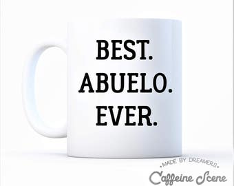 Best Abuelo Ever Mother's Day Mug Announcement Greatest Mother Favorite Grandma Ever Birthday Mama Special Grandmother Nana Grandparents Day