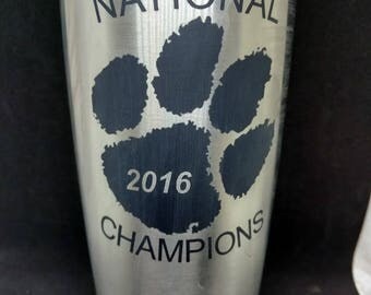 Clemson University National Championship Cup