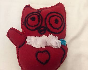 Kiky the Owl *Small Handmade Plushie