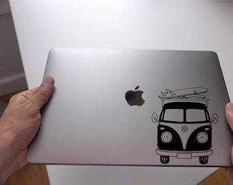 Volkswagen Van Sticker - VW Decal - Macbook Stickers - Car Decals