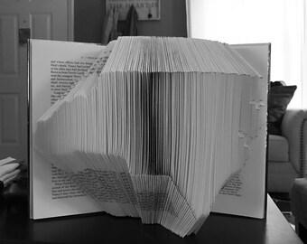 North Carolina Folded Book Art