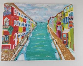 The Colorful Canal