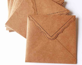 Kraft Paper Envelopes / Kraft Paper CD Sleeve/ Kraft Wedding Envelopes/- Kraft CD Sleeve,/Photographer Packaging/ Photographer CD Packaging/