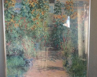 Poster of Monet Exhibit at Metropolitan Museum of Art