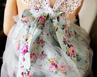 Baby girls floral dress girls floral dress  girl floral  baby floral dress birthday dress  baby shower gift birthday gift  girls wedding