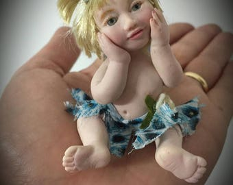 "OOAK fairy baby ""Sophia""-art doll by Dumanartcreation"