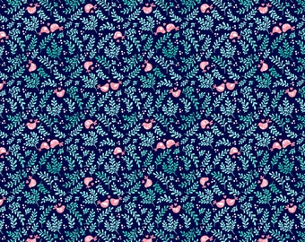 Pre-order love bird fabric felt