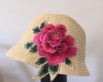 Spring Cloche Hat