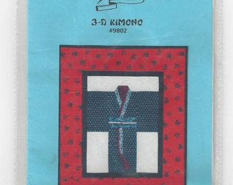 3-D Kimono Wallhanging Pattern by Sew Happy #9802