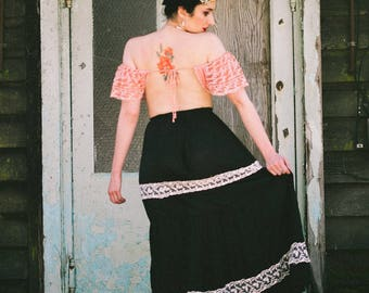 Belladonna Lace Maxi Skirt
