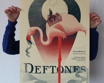 Deftones Screen Print