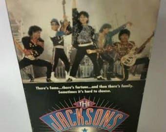 Vintage Michael Jackson Movie The Jacksons An American Dream 90s Miniseries VHS