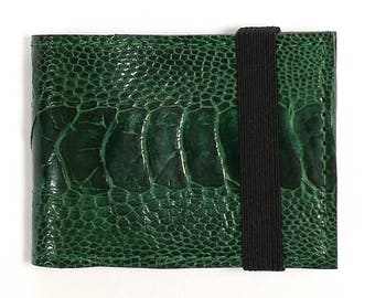 Slim Wallet with Elastic Band
