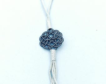 Charming Handmade & Handwoven Necklace (Kazaziye) Pure Silver