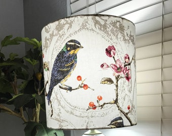 Bird Drum Lampshade