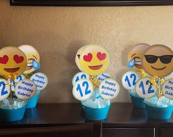 Emoji INSPIRED centerpieces (listing for 3)