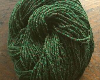 Wool-Camel Blend Hand-plied 6 ply Sporty DK Tweed - Tree of Life - 3.7 oz - 104.8 g - 200 yds - 182.8 m
