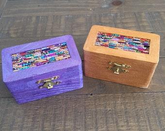 Upcycled Glass Mosaic Spirit Box