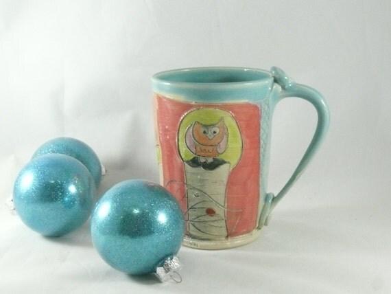Pottery Mug, Ceramic Teacup, Beer Mug Beer Stein, BeerTankard, Ceramic Cup, Clay Mug, pottery and ceramics, Coffee Cup 648