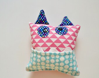 Tooth Pillow - Girls Tooth Pillow - Tooth Fairy Pillow - Monster Tooth Fairy Pillow - Monster Tooth Pillow - Toothfairy - Gift for Girls