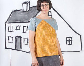 Blueprints For Sewing PATTERN - Saltbox Tee & Tank