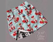 The Potato Chip Skirt Pattern - Girls A Line Skirt Pattern - A Line Skirt Pattern with Pockets - Reversible Skirt Pattern