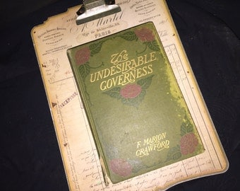 1910 Undersirable Governess
