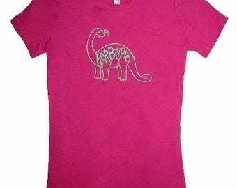 5 DOLLAR SALE: Herbivore Brontosaurus Dinosaur Juniors Shirt