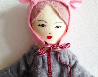 DIY Doll kit - Everything you need to make a Mina Doll -