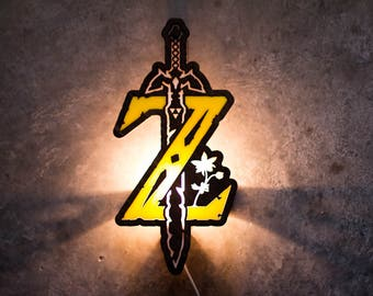 Zelda Breath of the Wild lamp