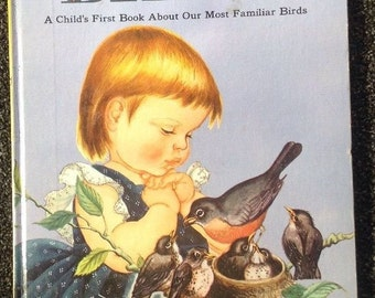 """Big Golden Book-"""" Birds"""" A Child's First Book About Our Most Familiar Birds"""