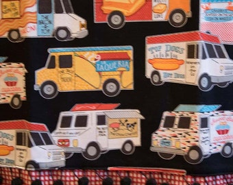 Food truck tea towel