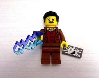 Nikola Tesla Keychain, Necklace -or- Just The Figure *Limited*