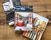 Literary Paris Postcard Set, Book lover Gift for Her, Travel Postcards, Paris Bookshop, English Major Gift