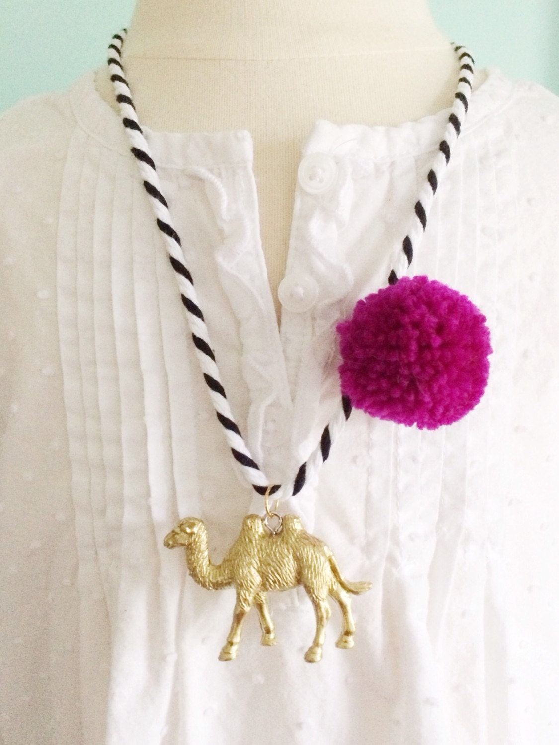 Chic Camel Necklace