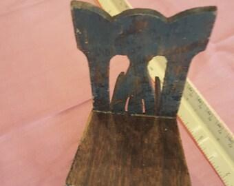Miniature Vintage Antique Rocking Chair Dollhouse Display