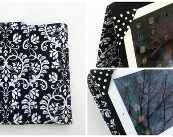 iPad Air Cover, iPad 4 Case, iPad 3 Case, Heart Standable Hardcover, all sizes available
