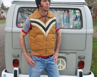 Vintage 80's Retro Puffy Vest