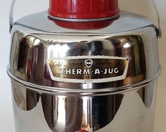 Thermo-Jug / Knapp-Monarch Jug / Picnic Jug / Vintage Picnic Jug / Chrome Jug / Drink Cooler