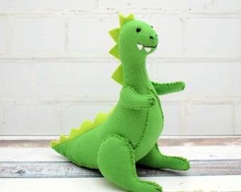 Dinosaur Softie Pattern pdf file instant download
