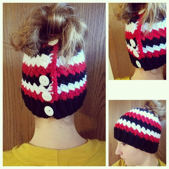 Messy Bun Hat Beanie, Mom Bun Monday, World's Okayest Mom, Mom Bun Hat, Christmas Gift For Mom, Mommy and Me Outfits, Mom Life Hat
