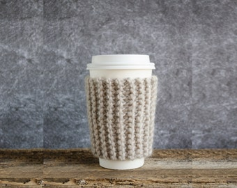 Coffee Sleeve, Coffee Cozy, Chunky Knit Cup Cozy, Coffee Mug Cozy, Coffee Cup Cozy, Coffee Cup Sleeve, Coffee Cup Sleeves, Coffee Gifts