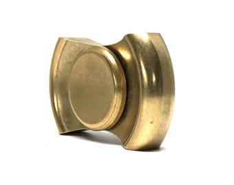 Artisan Vintage Brass Hand Spinner | Spinget