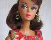 "Silkstone Barbie OOAK - 6 Pieces ""Christmas Party"""